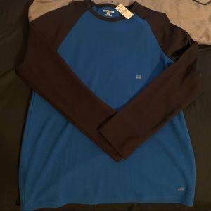 Express waffle long sleeve shirt.